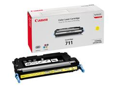 1657B002 CANON LBP5300 CARTRIDGE YELLOW 711Y 6000pages