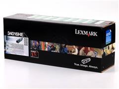 34016HE LEXMARK E330 TONER BLACK HC 6000pages high capacity return
