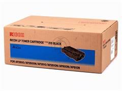400760 RICOH AP2600 CARTRIDGE BLACK type 215 20.000pages