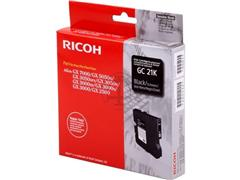 405532 RICOH AFC GX3000 GEL INK BLACK ST type GC21K 1500pages standard capacity