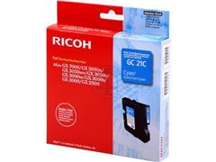 405533 RICOH AFC GX3000 GEL INK CYAN ST type GC21C 1000pages standard capacity
