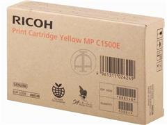 888548 RICOH MPC1500SP GEL CARTRIDGE YEL type MPC1500E 3000pages