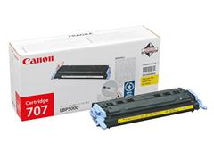 9421A004 CANON LBP5000 CARTRIDGE YELLOW 707Y 2000pages