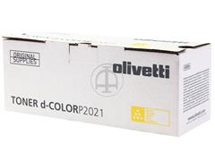 B0951 OLIVETTI DCOLOR P2021 TONER YEL 2800pages