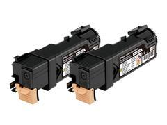 C13S050631 EPSON ALC2900 TONER (2) BLACK 2x3000pages
