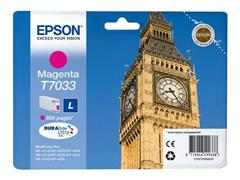 C13T70334010 EPSON WP4000 INK MAGENTA ST 9ml 800pages standard capacity