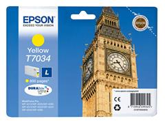 C13T70344010 EPSON WP4000 INK YELLOW ST 10ml 800pages standard capacity