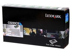 C5220CS LEXMARK C522N TONER CYAN 3000pages return