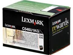 C546U1KG LEXMARK C546 CARTRIDGE BLACK 8000pages return