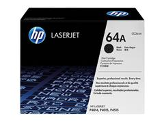 CC364A HP LJ P4015 CARTRIDGE BLACK ST HP64A 10.000pages standard capacity