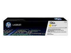 CE312A HP CLJ CP1025 TONER YELLOW HP126A 1000pages