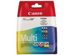 CLI526Z CANON IP4850 INK (3) CMY 4541B009 No.526 3x9ml blister w/o SEC