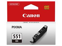 CLI551BK CANON IP7250 INK BLACK ST 6508B001 No.551 7ml standard capacity