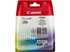 PG40+CL41 CANON MP450 INK (2) BLK+COL 0615B043 blister w/o sec