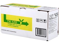 TK570Y KYOCERA FSC5400DN TONER YELLOW 1T02HGAEU0 12.000pages