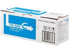 TK580C KYOCERA FSC5150DN TONER CYAN 1T02KTCNL0 2800pages