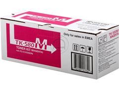 TK580M KYOCERA FSC5150DN TONER MAGENTA 1T02KTBNL0 2800pages