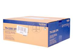 TN3280TWIN BROTHER DCP8085 TONER BLK (2) 2x8000pages high capacity