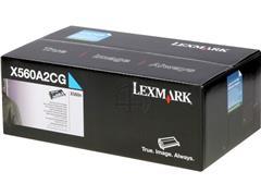 X560A2CG LEXMARK X560 CARTRIDGE CYAN ST 4000pages standard capacity