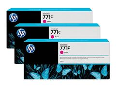 B6Y33A HP DNJ Z6200 INK (3) MAGENTA HP771C 3x775ml