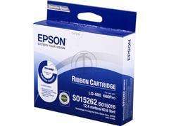C13S015262 EPSON LQ2500 RIBBON NYLON BK 2mil signs black