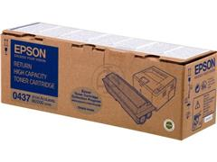 C13S050437 EPSON ALM2000 TONER BLACK HC 8000pages high capacity return