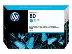 C4846A HP DNJ 1050 INK CYAN HC HP80 350ml high capacity