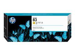 C4943A HP DNJ 5000 UV INK YELLOW HP83 680ml UV resistant