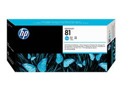 C4951A HP DNJ 5000 PRINTHEAD+CLEANER CYA HP81 13ml