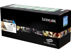 C780A1CG LEXMARK C780N TONER CYAN ST 6000pages standard capacity return