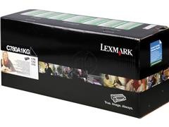 C780A1KG LEXMARK C780N TONER BLACK ST 6000pages standard capacity return