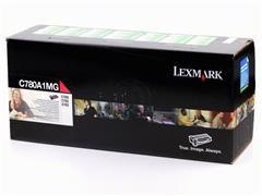 C780A1MG LEXMARK C780N TONER MAG ST 6000pages standard capacity return