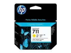 CZ136A HP DNJ T120 INK (3) YELLOW HP711 3x29ml