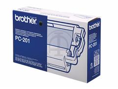 PC201 BROTHER FAX1010 CARTRIDGE 420pages cartridge+refill (1+1)