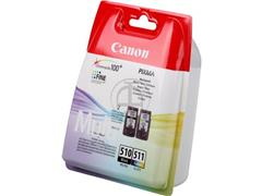 PG510+CL511 CANON MP240 INK (2) COLOR 2970B010 multipack blister w/o SEC