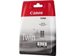 PGI5BK CANON MP800 INK (2) BLACK 0628B030 No.5 2x380pages