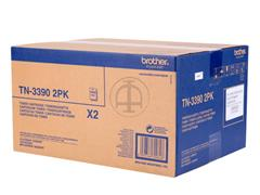 TN3390TWIN BROTHER DCP8250 TONER (2) BLK 2x12.000pages