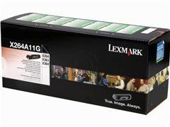 X264A11G LEXMARK X264 TONER BLACK 3500pages standard capacity return