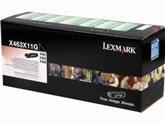 X463X11G LEXMARK X463 TONER BLACK EHC 15.000pages extra high capacity return