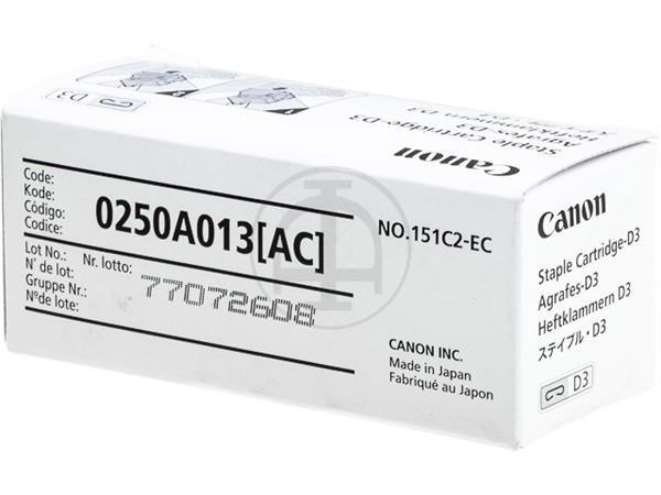 0250A013 CANON D3 STAPLES(2) 2x2000pcs