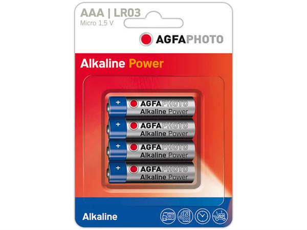 110-802572 AP MICRO BATTERIES 4er PACK LR03 High Q