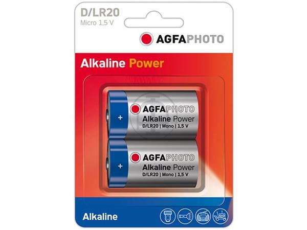 110-802619 AP MONO D BATTERIES 2er PACK LR20 High