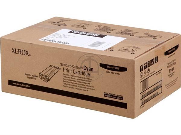 113R719 XEROX PH6180 TONER CYAN ST 2000pages standard capacity