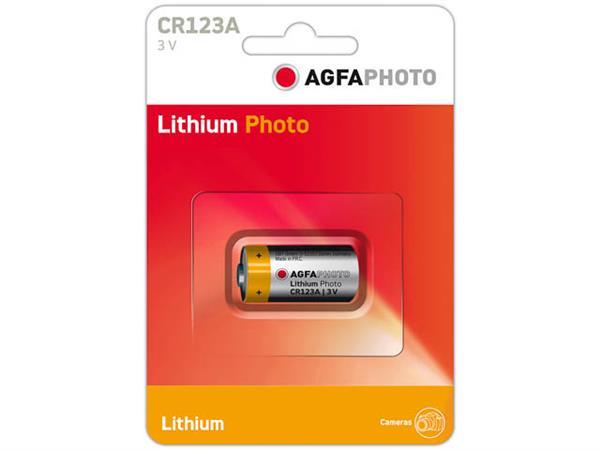 120-802633 AP LITHIUM BATTERY 1PCS CR123A lithium
