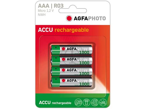 131-802756 AP MICRO BATTERIES 4er PACK HR03 NiMh-A