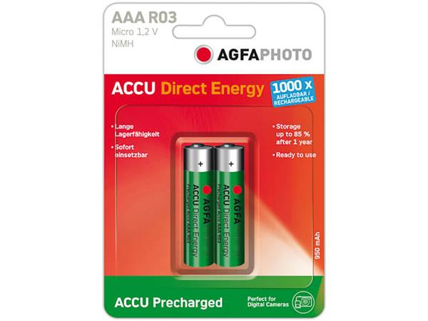132-803944 AP MICRO BATTERIES 2er PACK Ready-to-Us