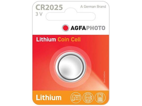 150-803425 AP CR2025 BATTERY 1PCS lithium coin cel
