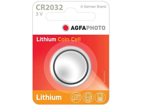 150-803432 AP CR2032 BATTERY 1PCS lithium coin cel