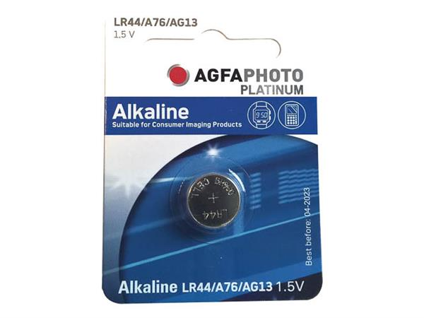 150-803470 AP BATTERY 1PCS LR44/AG13 Alkaline coin