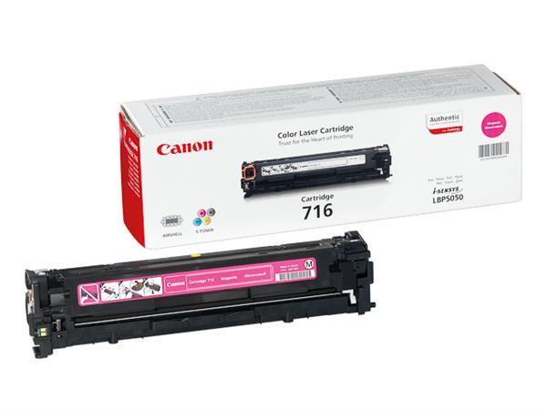 1978B002 CANON LBP5050 CARTRIDGE MAGENTA 716M 1500